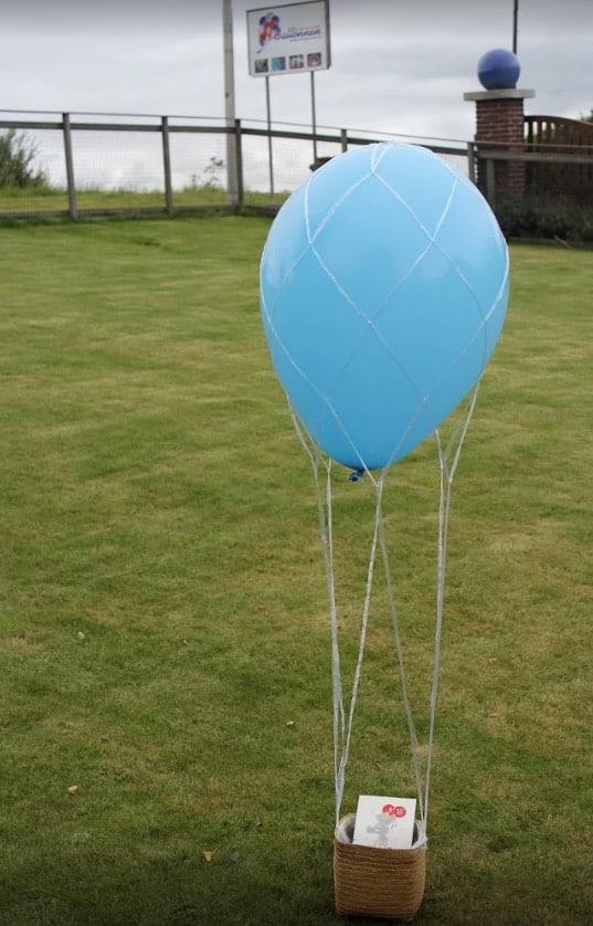 Luchtballon-ballonnen