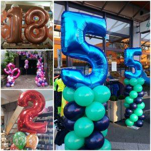 Folieballonnen cijfers